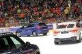 Přehlídka vozů BMW od partnera utkání, společnosti ACR auto.