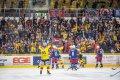 Radost českobudějovických fanoušků i samotných hokejistů