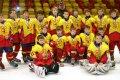Hvězda Praha brala stříbro, na některých tvářích malých hokejistů bylo vidět zklamání.