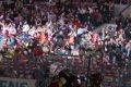 Sparťané oslavují třetí branku v zápase