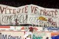 Sparťanští fanoušci vítají brněnské příznivce v Praze
