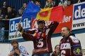 Sparťanští fanoušci se vydali podpořit svůj tým do Ostravy
