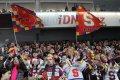 Přes 10 tisíc fanoušků dorazilo na první čtvrtfinálovou bitvu mezi Spartou a Kometou Brno
