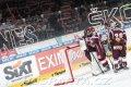 Sparťanská radost po vítězství nad Kometou Brno