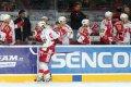 Slávista Hertl slaví rozhodující branku pražského derby