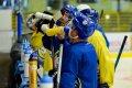 A-tým Zubrů poprvé na ledě