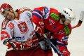 Jan Hruška inkasoval úder loktem do obličeje