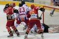 Jan Kubišta inkasoval úder hokejkou do obličeje
