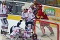 Vladislav Kubeš jako obvykle dohrává útočnou situaci