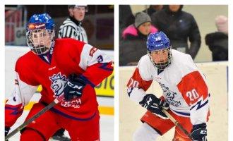 Dva hráči národního týmu do 18 let budou hrát v Šumperku