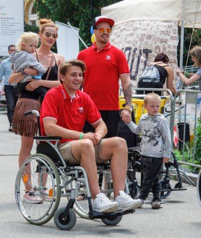 Beseda strenéry A-týmu i štafeta na vozíčku! Takový bude pátek 22. června