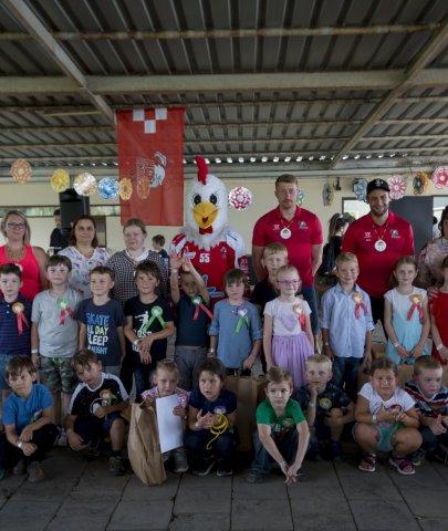 Vyřazení předškoláků MŠ Michalské stromořadí za asistence hráčů HC Olomouc