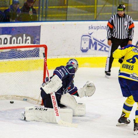 Naposledy v tomto roce na led soupeře, Zubři svedou souboj o body s Chomutovem