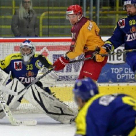 Po týdnu opět doma na hokej, další důležité body chtějí Zubři získat se třetí Jihlavou