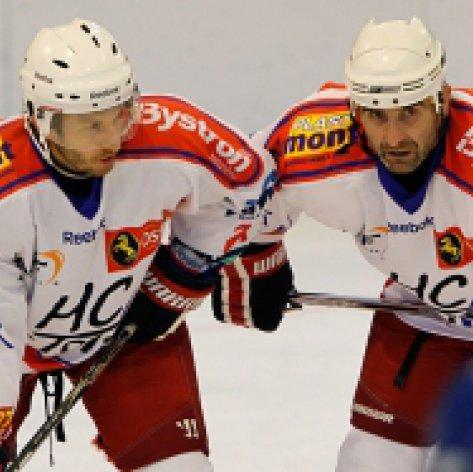 Další hokejové menu: Přerov doma čeká nováček z Poruby