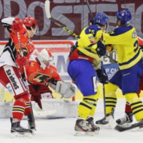 Po šesti zápasech porážka, Zubři nezvládli v Prostějově třetí třetinu a jsou bez bodu