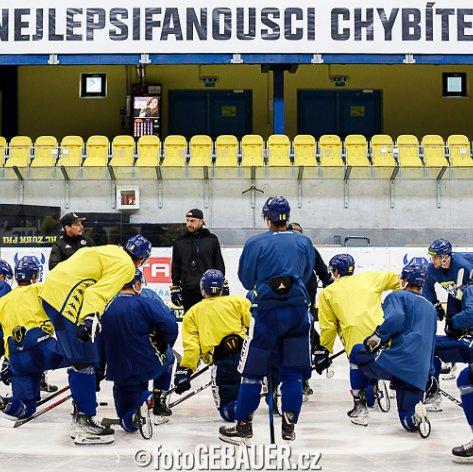 Tým Zubrů se vrátil do přípravy, v MEO Aréně mu oficiálně začaly tréninky na ledě
