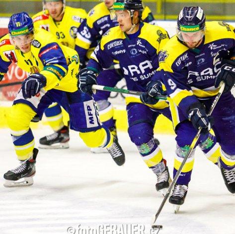 Zubři na ledě Šumperku utrpěli první porážku, rozhodl smolný gól z úvodní třetiny