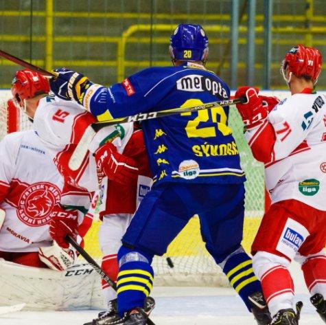 Přerov jako první tým v sezoně dobyl frýdeckou Polárku, Rysy ulovil v nájezdech