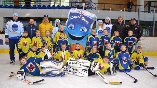 Premiéra: přerovští hokejisté z přípravky startovali na turnaji Capri-Sun CUP ve Zlíně