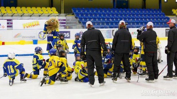 Mládežnický hokej v Přerově žije! Nejmenší hráči o tréninky přípravky nepřijdou