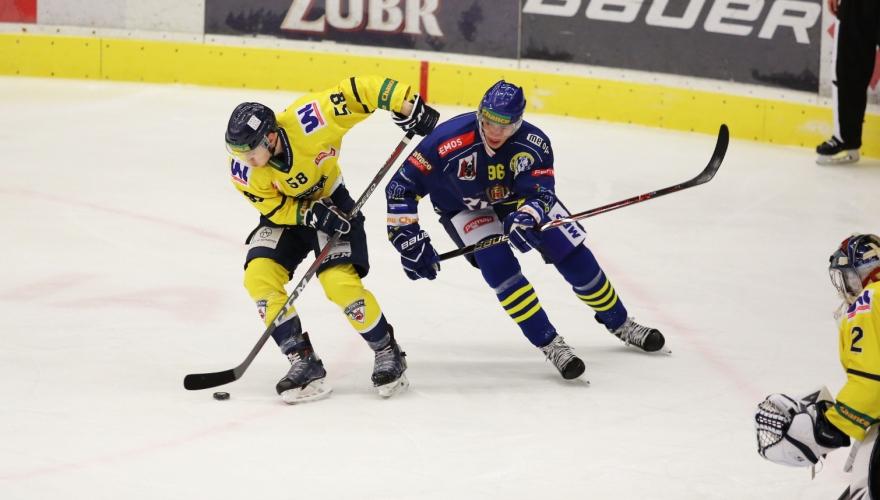 Zubři cestu k bodům nenašli, s Ústím na domácím ledě utrpěli fotbalovou porážku