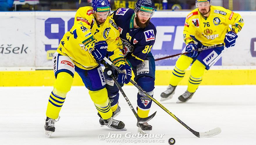 Zubři zvládli důležitou dohrávku a potřetí v sezoně přemohli ústecký Slovan