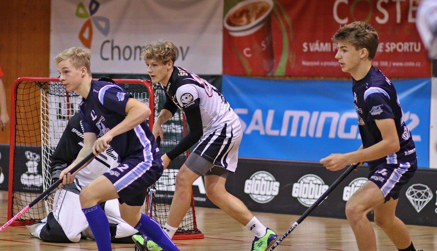 Po prohrách se Střešovicemi a Kladnem si junioři Chomutova zahrají 1. ligu