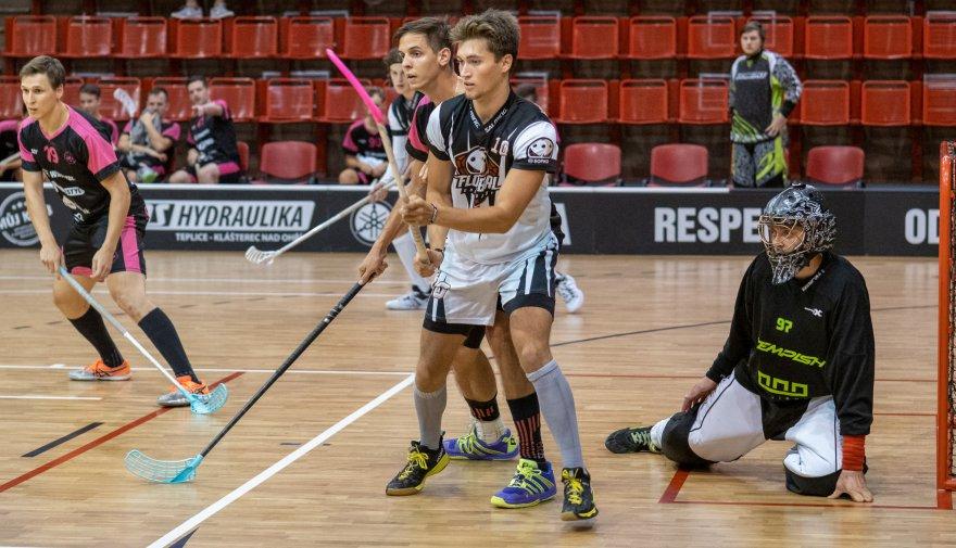 Florbalisté Chomutova nevyzráli na Slovan Havířov v předehrávce 15. kola