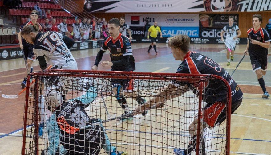 Severočeské derby ve čtvrtfinále! Chomutov svede bitvu s Florbalem Ústí